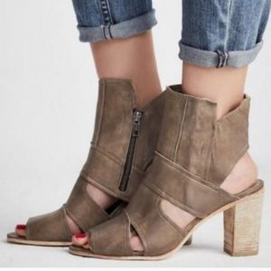 Free People Effie block heel shoe BNIB EU 39